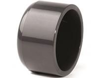 Zátka lepení - průměr 63mm, PT, černá, 0.16kg