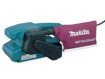 Pásová bruska Makita 9910 - 650W, 457x76mm, 2.7kg, elektronicky regulovaná rychlost ...