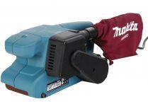 Pásová bruska Makita 9911 - 650W, 457x76mm, 2.6kg, elektronicky regulovaná rychlost pásu