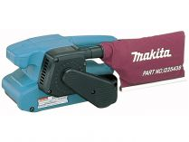 Makita 9911 pásová bruska s regulací pásu - 650W, 457x76mm, 2.6kg