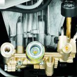 Profi vysokotlaký čistič bez ohřevu Kärcher HD 9/20-4 M Plus, 4-pólovým pomaloběžný elektromotor, třída střední - 7kW, 460-900L/H, 220/22bar/MPa, 48kg, 467x407x1010mm (1.524-926.0)