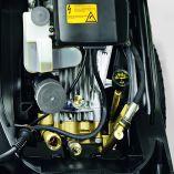 Profi vysokotlaký čistič Kärcher HD 17/14-4 S Plus, bez ohřevu, třífázový motor, 9.4kW, 650-1700l/h, 560x500x1090mm, 63kg (1.286-915.0)