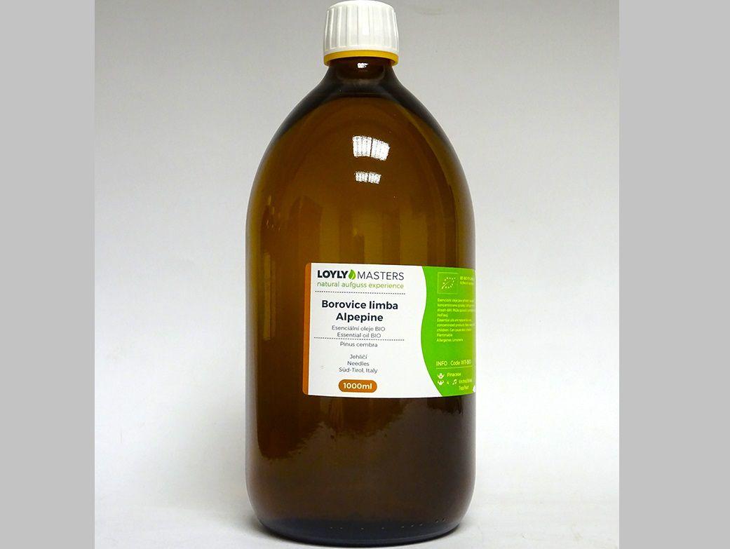 Aroma esence Hanscraft 100% EO LOYLY MASTERS Borovice limba - 1000ml - BIO, 1.369kg (176491)