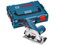 Bosch GKS 12V-26 Professional - 2x 12V/3.0Ah Li-ion, 85mm, 1.4kg, L-BOXX, aku kotoučová pila