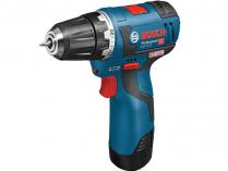 Bosch GSR 12V-20 Professional - 12V, 20Nm, 0.9kg, bezuhl. aku vrtačka bez příklepu, bez aku
