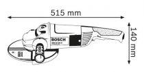 Úhlová bruska Bosch GWS 22-230 JH Professional, 230mm, 2200W (0601882M03) Bosch PROFI