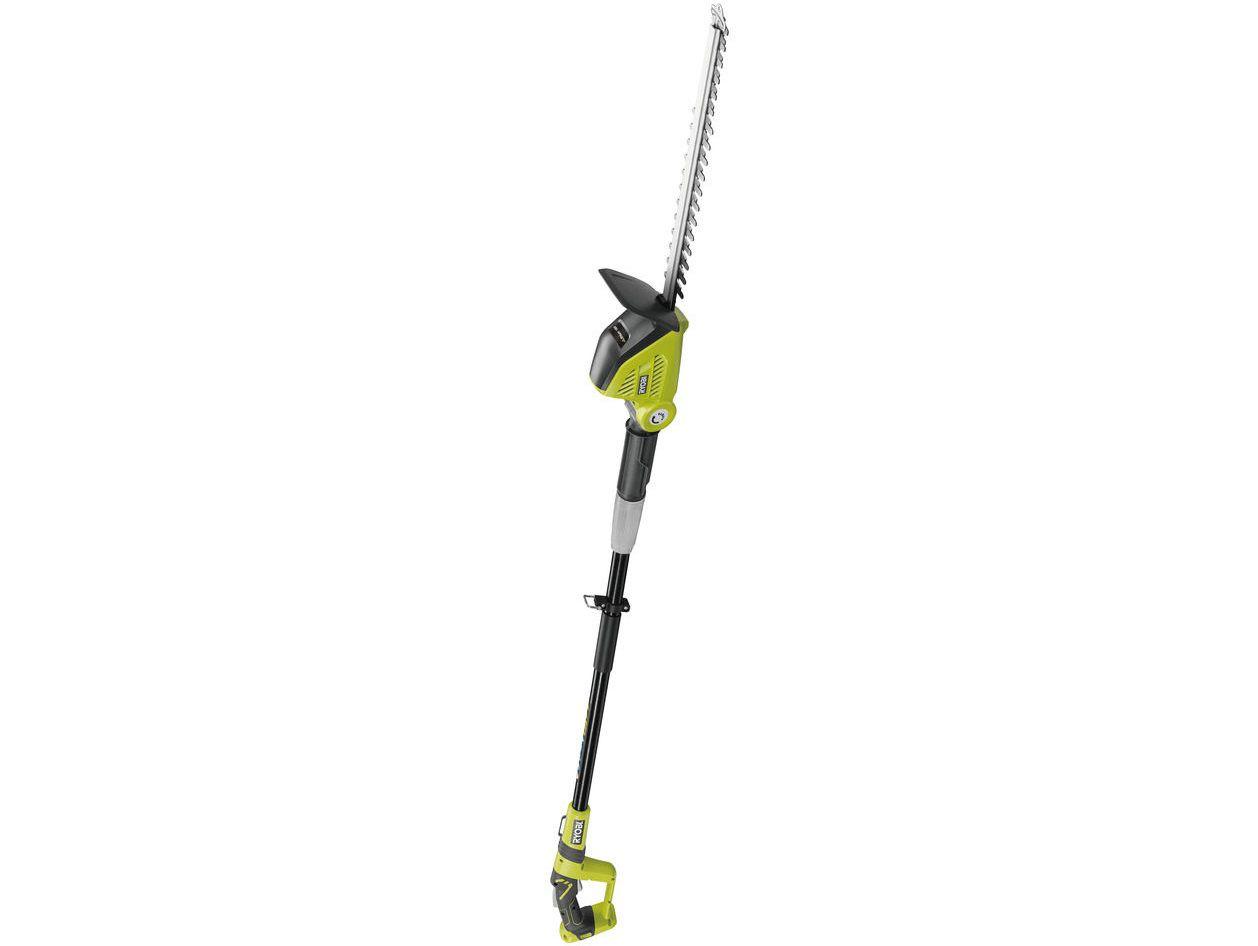 Aku nůžky s dlouhým dosahem na živý plot Ryobi OPT1845 - 18V, 45cm, 3.4kg, bez akumulátoru a nabíječky (5133002523)