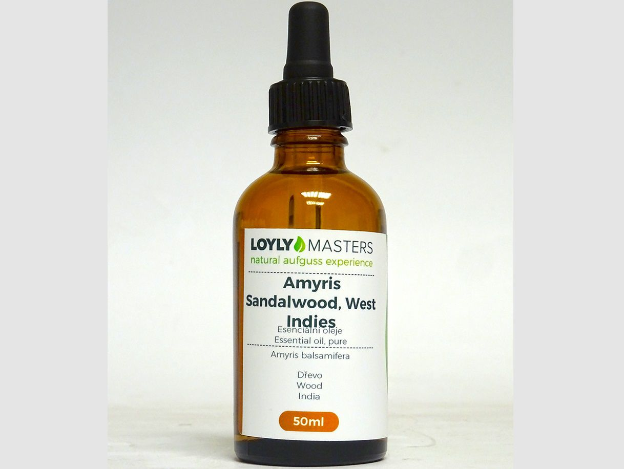 Aroma esence Hanscraft 100% EO LOYLY MASTERS Amyris - 50ml, 0.114kg (176418)
