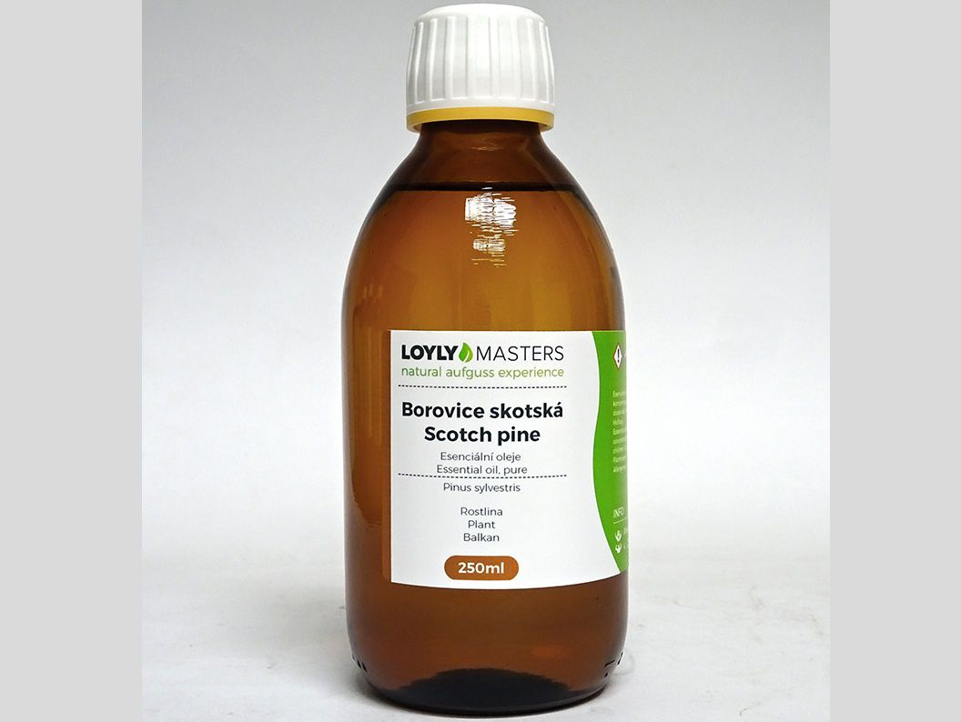 Aroma esence Hanscraft 100% EO LOYLY MASTERS Borovice skotská - 250ml, 0.38kg (176450)