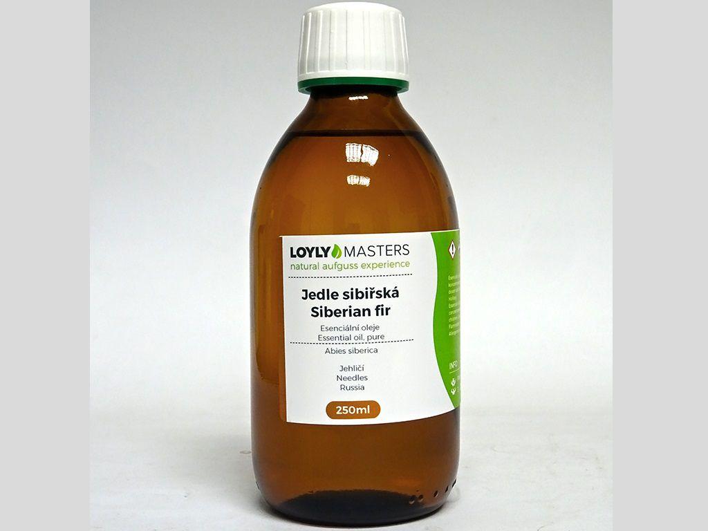 Aroma esence Hanscraft 100% EO LOYLY MASTERS Jedle sibiřská - 250ml, 0.38kg (176451)
