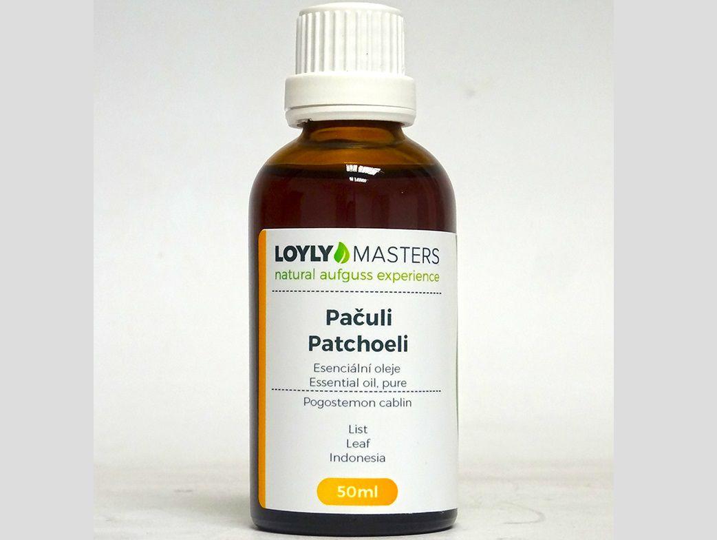 Aroma esence Hanscraft 100% EO LOYLY MASTERS Pačuli - 50ml, 0.114kg (176428)