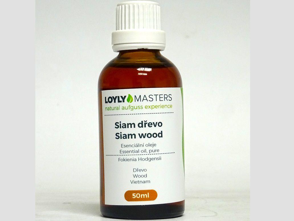 Aroma esence Hanscraft 100% EO LOYLY MASTERS Siam dřevo - 50ml, 0.114kg (176422)