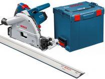 Bosch GKT 55 GCE Professional + vodící lišta FSN 1600 + L-Boxx, ponorná kotoučová pila