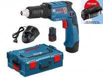 Bosch GTB 12V-11 Professional - 2x 12V/3.0Ah + USB adaptér GAA 12V, kufr L-BOXX, aku šroubovák