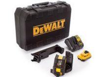 DeWALT DCE0825D1G-QW - 1x 10.8V/2.0Ah, 0.6kg, kufr, profi křížový laser