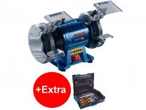 Dvoukotoučová bruska Bosch GBG 35-15 Professional - 350W, 150mm, 10kg, s indukčním motorem + dárek