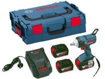 Bosch GDX 18 V-EC Professional - 2x 18V/5.0Ah, 185Nm, 1.7kg, kufr, aku rázový utahovák