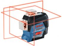 Křížový laser Bosch GLL 3-80 C Professional - 0.9kg, ochranné pouzdro