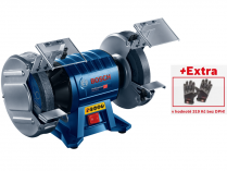 Dvoukotoučová bruska Bosch GBG 60-20 Professional - 600W, 200mm, 15kg, s indukčním motorem + dárek