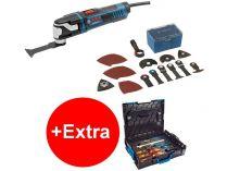 Multifunkční nářadí Bosch GOP 55-36 Professional - 550W, 1.6kg, kufr + dárek