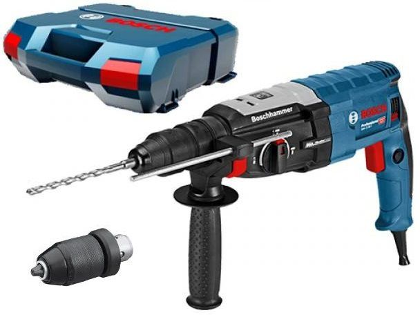 Bosch GBH 2-28 F Professional vrtací a sekací pneumatické kladivo SDS-Plus s výměnným sklíčidlem, 880W, 3.2J, 3.1kg, v kufru (0611267600) Bosch PROFI