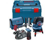 Křížový laser Bosch GCL 2-50 C Professional - 1x 12V/2.0Ah, kufr L-BOXX