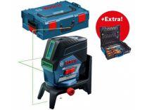 Křížový laser Bosch GCL 2-50 CG Professional - 1x 12V/2.0Ah, kufr L-BOXX + dárek