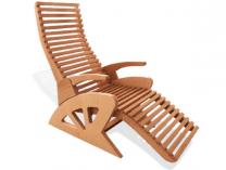 Křeslo Hanscraft HOLLS Alto Confort - relaxační saunové lehátko