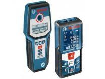 Laserový dálkoměr Bosch GLM 50 C Professional + Detektor Bosch GMS 120 Professional