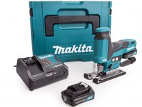 Makita JV102DSAJ - 2x 10.8V/2.0h, 2kg, kufr Systainer, aku přímočará pila