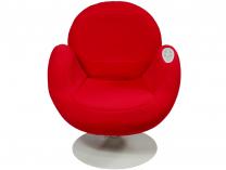 Masážní křeslo HANSCRAFT Lora - červené, 48W, 540x620x730mm, 22kg