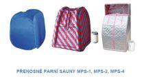 Mobilní parní sauna Hanscraft MPS-1, 800W, 1.5L/H, automatické vypnutí, 80x80x104cm, 5.5kg (131001-H)