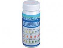POOL & SPA Hanscraft Testovací proužky 4v1 - pH,volný Cl,alkalita,brom- 10ks, 0.1kg