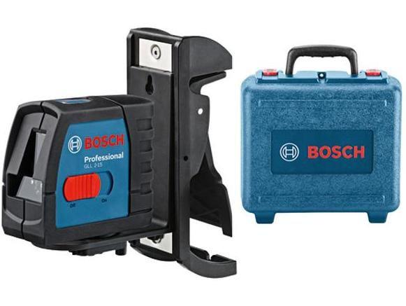GLL 2-15 Professional Křížový čárový laser + BM 3 + kufr Bosch