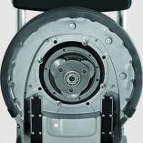 Jednokotoučový mycí a leštící stroj na podlahy Kärcher BDS 51/180 C Adv - 1400W, 40.5kg, 1.291-227.0