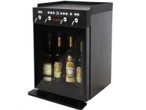 Dávkovací chladící box VinoTek VT4 - na 4 láhve vína, černý, 95W, interní/externí vstup, 28.1kg