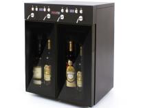 Dávkovací chladící box VinoTek VT4 (2+2) - na 4 láhve vína, černý, 95W, interní/externí vstup, 29kg
