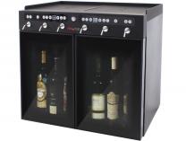 Dávkovací chladící box VinoTek VT6 - na 6 láhví vína, černý, 105W, interní/externí, 46.7kg