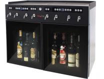 Dávkovací chladící box VinoTek VT8 - na 8 láhví vína, černý, 110W, interní/externí, 46.7kg