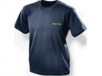 Triko s kulatým výstřihem Festool XXL - tmavě modrá, pánské, 100% bavlna