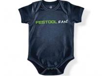 """Dětské body """"Festool Fan"""" Festool - velikost 68, modré, 100% bavlna"""