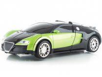 Hračka G21 R/C robot Green King - 2 v 1 - odvážný bojoník a auto, 3.7V/350mAh, 0.61kg