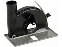 Odsávací kryt - vodící saně s odsávacím hrdlem na řezání pro úhlovou brusku Bosch GWS 850 C/CE ad.