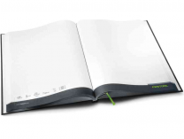 Poznámkový sešit Festool - DIN A4, 200 stran, čtverečkovaný, tmavě modrá