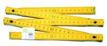 Metr skládací 2 m - dřevěný
