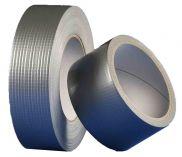 Den Braven - univerzální textilní páska 30mm x 25m - stříbrná