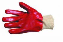 REDPOLL - polomáčené rukavice v PVC velikost 10