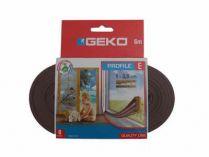 GEKO - Těsnění do oken hnědé samolepící EPDM guma 9x4mm/ 6m E…