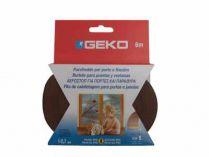 GEKO - Těsnění do oken hnědé samolepící PVC 9x3mm/ 6m