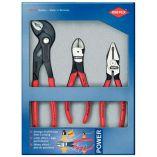KNIPEX - sada kleští 3 díly - POWER SET 002010